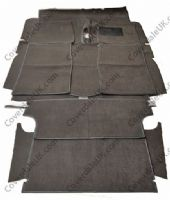 Austin A40 Farina MkI 1958 to 1961 Carpet Set including rear load area - Wessex Wool Range